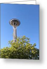 Seattle Architecture Greeting Card