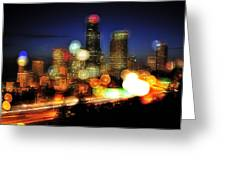 Seattle Color Spots C086 Greeting Card
