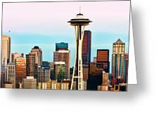 Seattle Daylight Greeting Card