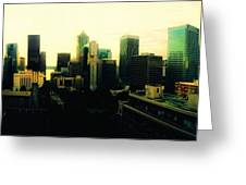 Seattle - Downtown Greeting Card
