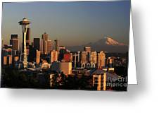 Seattle Equinox Greeting Card
