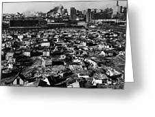 Seattle: Hooverville, 1933 Greeting Card