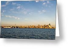 Seattle Landscape Greeting Card