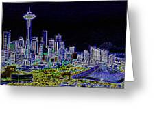 Seattle Quintessence Greeting Card