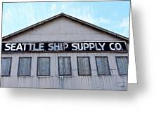 Seattle Ship Supply 2 Greeting Card