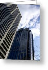 Seattle Skyscrapers Greeting Card