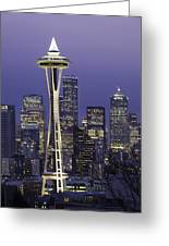 Seattle Space Needle 0200 Greeting Card