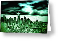 Seattle - The Emerald City Greeting Card