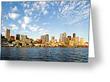 Seattle The Emerald City Greeting Card
