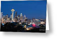 Seattle Twight Greeting Card