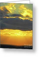 Seaview Sunset 3 Greeting Card