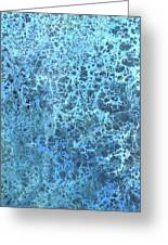 Seawater Froth Greeting Card