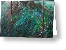 Seaweeds Tryptych Greeting Card