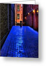 Secluded Patio Greeting Card