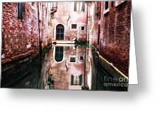 Secluded Venice Greeting Card