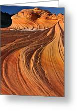 Second Wave, Coyote Buttes North Greeting Card