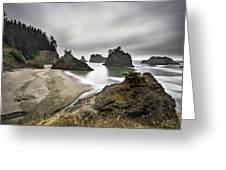 Secret Beach Greeting Card
