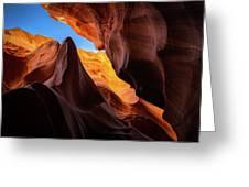Secret Canyon Greeting Card