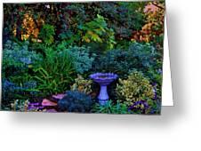 Secret Garden Greeting Card by Helen Carson