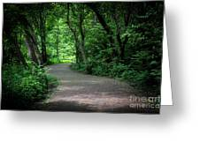 Secret Path Greeting Card