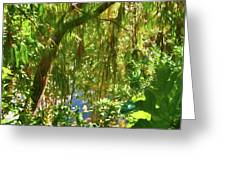 Secret Place By The Water Greeting Card