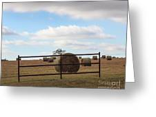 Secure Fence Greeting Card