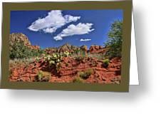 Sedona # 16 - Red Rocks Greeting Card