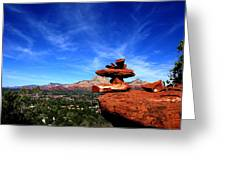 Sedona Airport Vortex Greeting Card