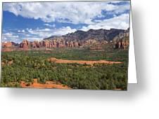 Sedona Arizona Landscape Greeting Card