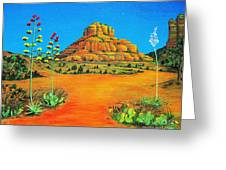 Sedona Bell Rock Greeting Card