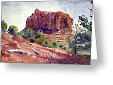 Sedona Butte Greeting Card