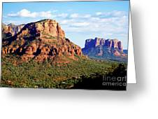 Sedona Buttes Greeting Card
