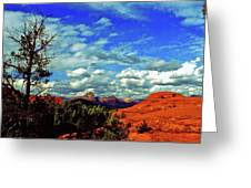 Sedona Capitol Butte Greeting Card
