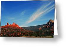 Sedona Clouds Greeting Card