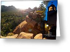 Sedona Day And Night Greeting Card