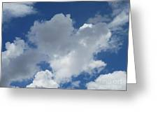 Sedona Heart Cloud Greeting Card
