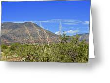 Sedona Hills Greeting Card