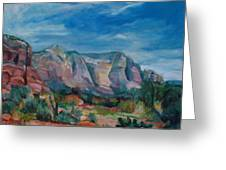 Sedona II Greeting Card
