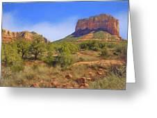 Sedona Landscape - 1 - Arizona Greeting Card