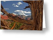 Sedona Mountains Arizona Greeting Card
