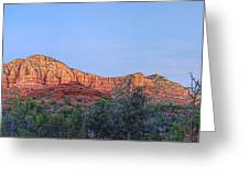 Sedona Panoramic - Highway 179 Greeting Card