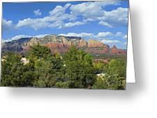 Sedona Panoramic Greeting Card