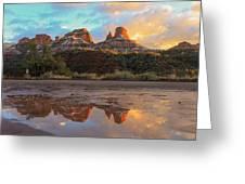 Sedona Reflections Greeting Card