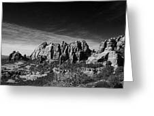 Sedona Reversed Greeting Card