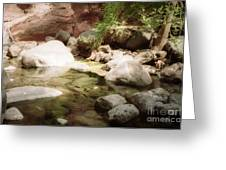 Sedona River Rock Greeting Card