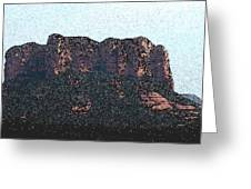 Sedona Rock Formation Greeting Card