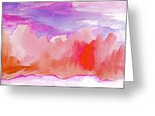 Sedona Sky Greeting Card