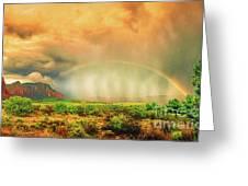 Sedona Storm, Sedona, Arizona Greeting Card