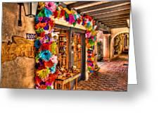 Sedona Tlaquepaque Shopping Center  Greeting Card