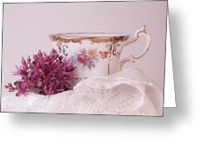 Sedum Flower Still Life Greeting Card